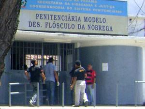 Penitenciária Desembargador Flósculo da Nóbrega (Foto: Ramon Costa/G1 PB)