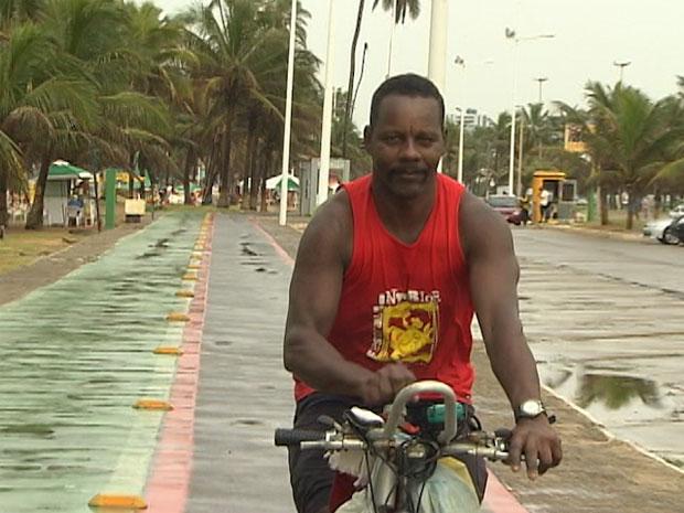carlos de jesus ciclistas bahia (Foto: Reprodução/TV Bahia)
