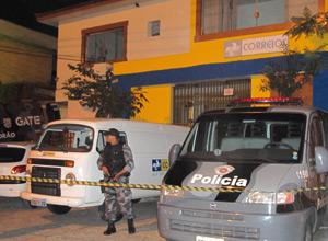 Pacote que explodiu nos Correios em SP tinha fogos, diz polícia (Roney Domingos/G1)