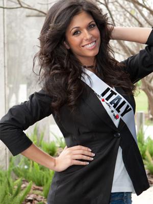miss itália (Foto: Divulgação/Miss Universo)