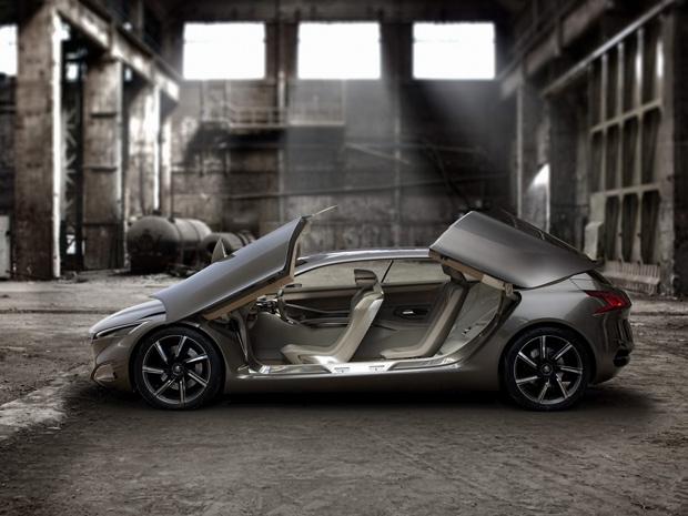 Híbrido Peugeot HX1 estará no Salão de Frankfurt (Foto: Divulgação)