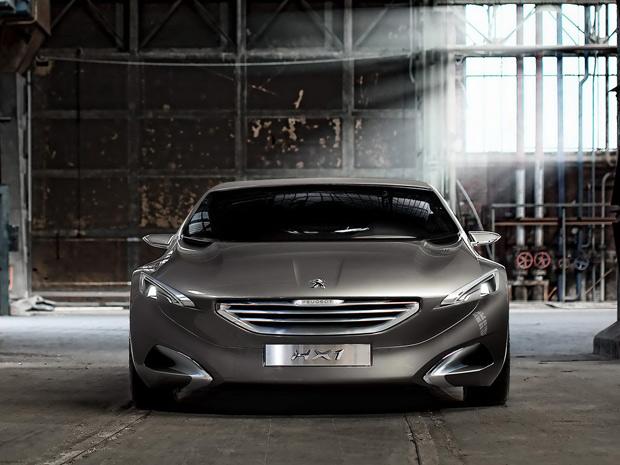 Peugeot HX1 inova em design (Foto: Divulgação)