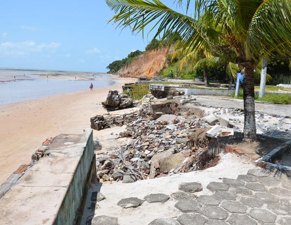 Praia do Seixas (Foto: Walter Paparazzo/G1 PB)