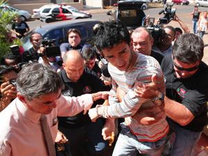 Suspeito diz ter matado o analista, mas nega ter assassinado o modelo (Foto: F.L.Piton/A Cidade/AE)