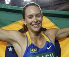 'Gosto que seja difícil', diz Fabiana Murer (Reuters)
