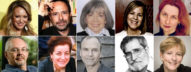 Autores estrangeiros na Bienal do Livro do Rio (Foto: Divulgação/Divulgação)