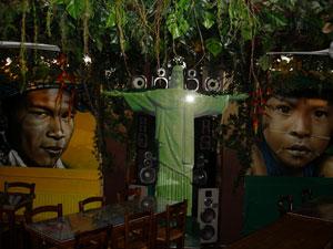 Restaurante Gabriela, em Paris, é decorado com inspiração no Brasil (Foto: Divulgação/Gabriela)