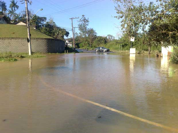 chuva sc (Foto: Gilmar de Souza/Agência RBS)