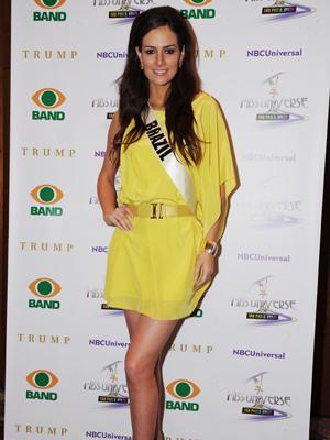 Miss Brasil antecipou detalhes das roupas do concurso (Foto: Raul Zito/G1)