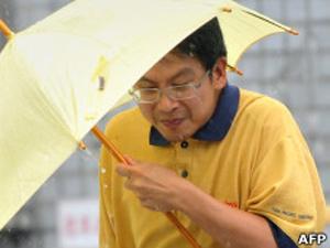 Nenhum método existente de indução de chuvas é unanimidade entre especialistas (Foto: AFP)