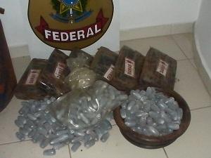 Parte do material apreendido durante a Operação Mercúrio (Foto: Divulgação/Polícia Federal - GO)