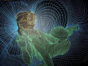 Uma das obras do artista Vinícius Oliveira (Foto: Imagem Divulgação- Vinícius Oliveira)