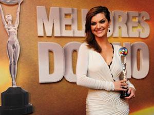 Atriz ganhou o prêmio de revelação de 2010 por sua atuação em 'Ti ti ti' (Foto: Márcio Nunes/TV Globo)