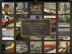 Aplicativo apresenta 400 imagens e 1 hora de vídeo sobre o 11 de Setembro (Foto: Divulgação)