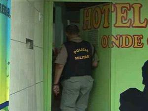 Polícia investiga morte de mulher que foi encontrada morta em hotel (Foto: Reprodução/TV Globo Nordeste)
