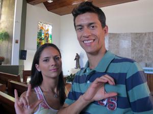Casamento de Pedro e Patrícia será realizado em Libras neste sábado (3) (Foto: Jamila Tavares /G1)