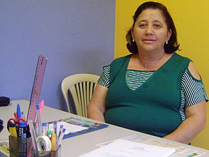 Para Tânia Barbosa, seria injusto comemorar sem os alunos da zona rural (Foto: Karoline Zilah/G1)