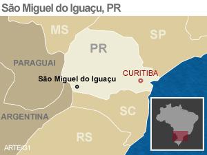 São Miguel do Iguaçu (Foto: Reprodução)
