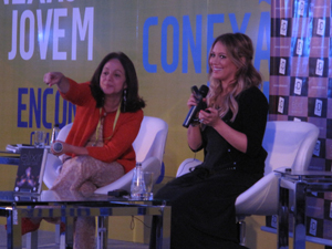 Hilary Duff (Foto: Carla Meneghini/G1)