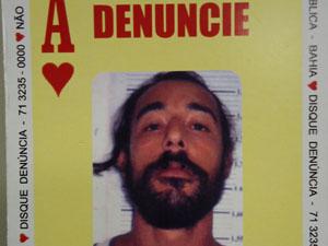 paulista baralho do crime (Foto: Do G1 BA)