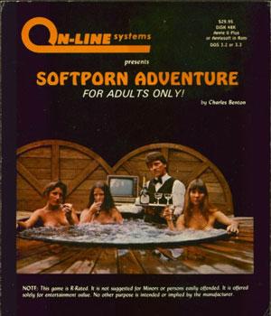 'Softporn Adventures' completa 30 anos de lançamento em 2011 (Foto: Divulgação/Sierra On-line)