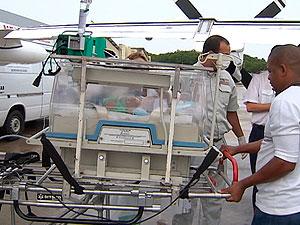 Bebê baiano com doença rara no coração é transferido para São Paulo (Foto: Reprodução/TV Bahia)