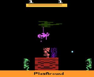 O bizarro 'Burning Desire', do Atari (Foto: Reprodução)