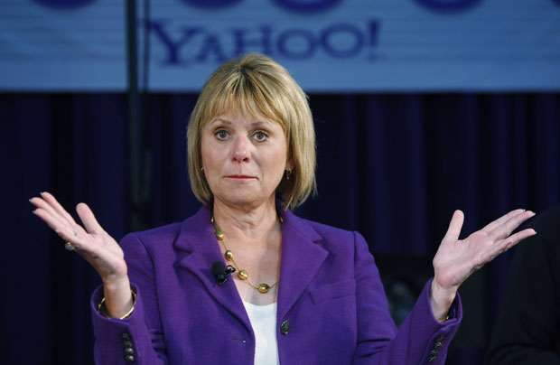 Carol Bartz, era CEO do Yahoo (Foto: Paul Sakuma/AP)