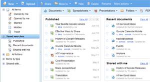 Google Docs, serviço permite edição e armazenamento de documentos (Foto: Reprodução)