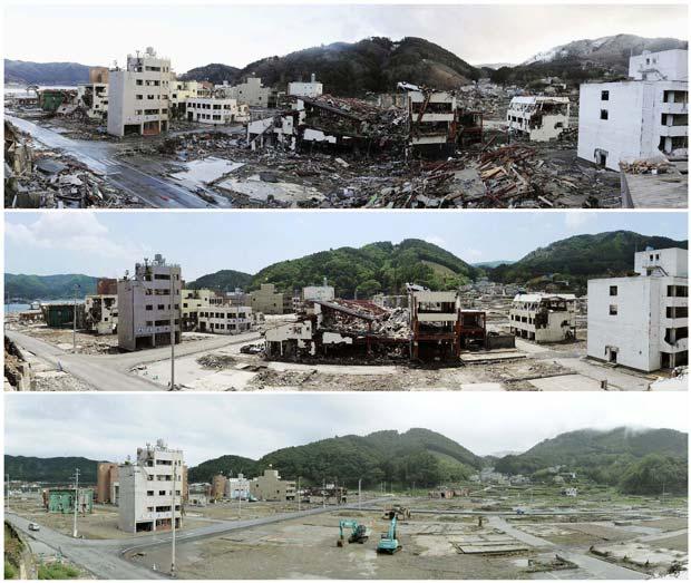 tsunami (Foto: Reuters)