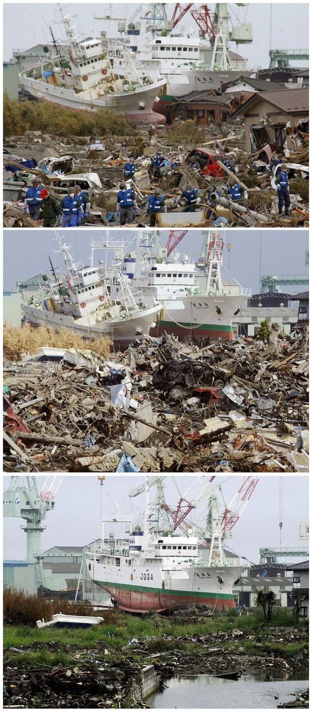 Tsunami Japão (Foto: Reuters)