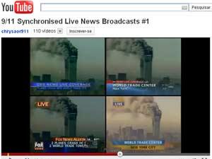Vídeo do YouTube sincroniza cobertura ao vivo de 4 TVs dos EUA (Foto: Reprodução)