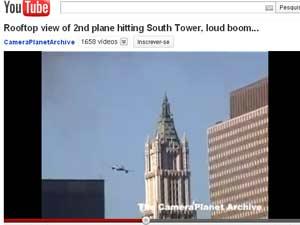 Vídeo mostra outro ângulo do atentado de 11/9 (Foto: Reprodução)