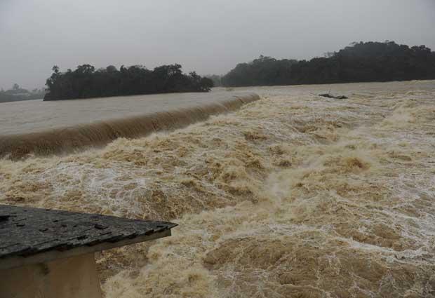 chuva sc (Foto: Jandyr Nascimento/Agência RBS)