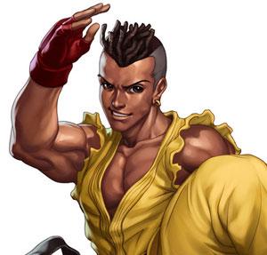 Sean é lutador brasileiro de 'Street Fighter III' (Foto: Divulgação)