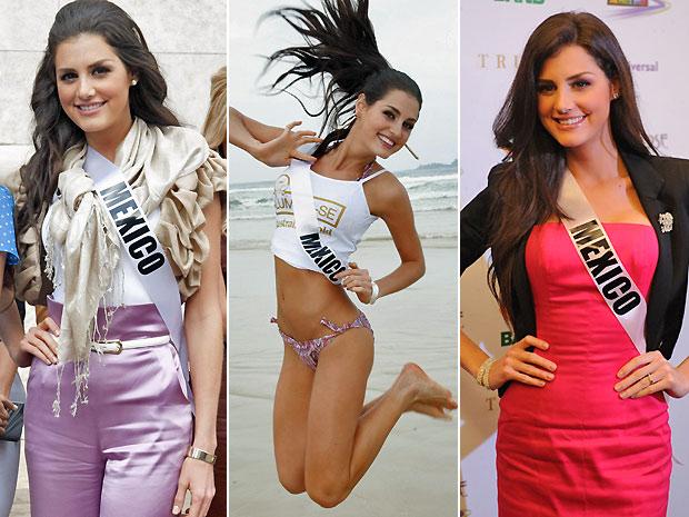 Miss México (Foto: Raul Zito/G1 e Reuters)