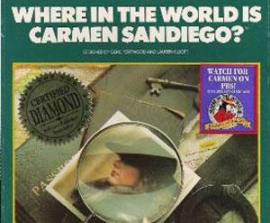 Jogador viajava ao Brasil atrás de Carmen Sandiego (Foto: Divulgação)