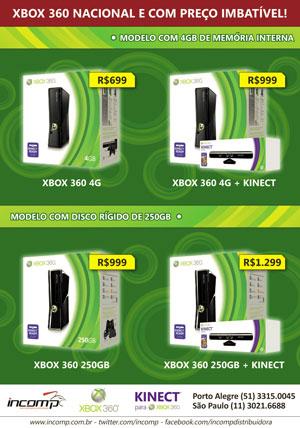 Imagem de e-mail enviado para revendedores da Microsoft com os novos preços do Xbox 360 (Foto: Reprodução)