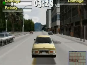 'Driver 2', do PSone, tem fase no Rio (Foto: Reprodução)