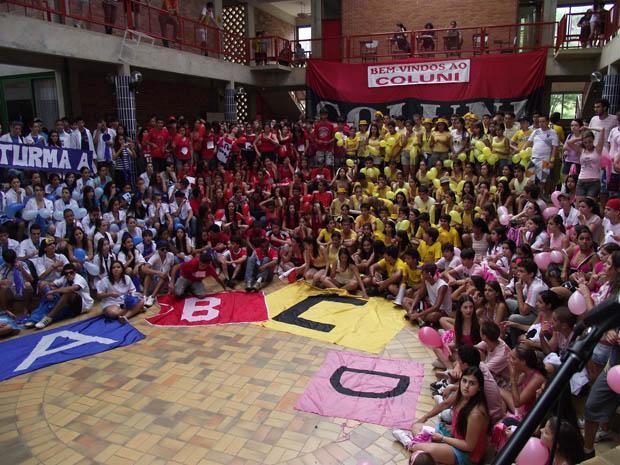 Coluni Colégio de Aprovação da Universidade de Viçosa, em Minas Gerais (Foto: Divulgação/Universidade Federal de Viçosa)