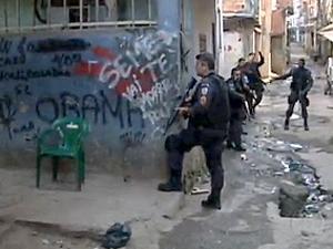 Operação Manguinhos teve quatro presos (Foto: Reprodução / TV Globo)