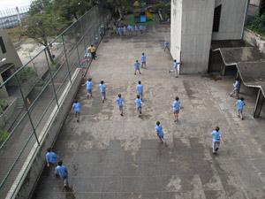 Colégio São Bento, no Rio (Foto: Carolina Lauriano/G1)