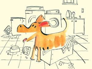 Ilustrações do livro infantil 'Quem soltou o pum?' (Foto: Divulgação/Divulgação)