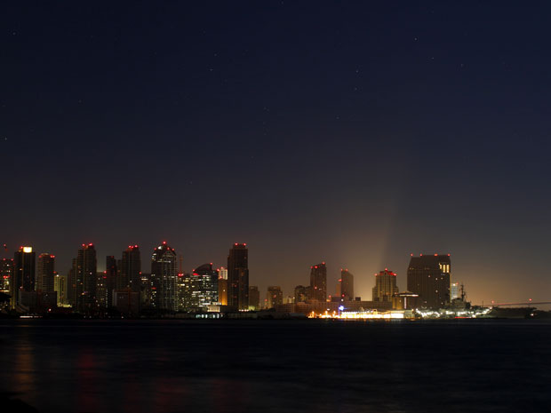 San Diego é a cidade mais afetada, com 1,4 milhão de usuários atingidos (Foto: Mike Blake / Reuters)