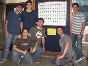 Alunos do Colégio São Bento aprovados no melhor curso de Direito do Rio (Foto: Alba Valéria Mendonça/G1)