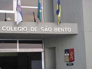 Colégio São Bento, do Rio: primeiro colocado no ranking nacional do Enem (Foto: Alba Valéria Mendonça/G1)
