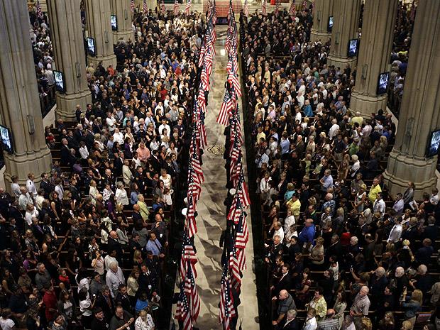 Bombeiros 11 de Setembro (Foto: REUTERS/Seth Wenig/Pool)