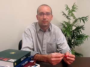 Dalton Franco, diretor do Colégio Olimpo, de Brasília (Foto: Rafaela Céo/G1)