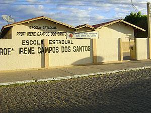Escola Estadual Professora Irene dos Santos em Casa Nova (Foto: Elton Oliveira/Arquivo Pessoal)