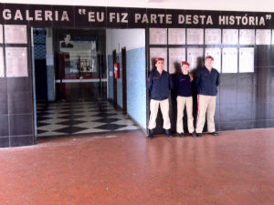 Galeria Colégio Militar Curitiba (Foto: Fernando Castro/G1)